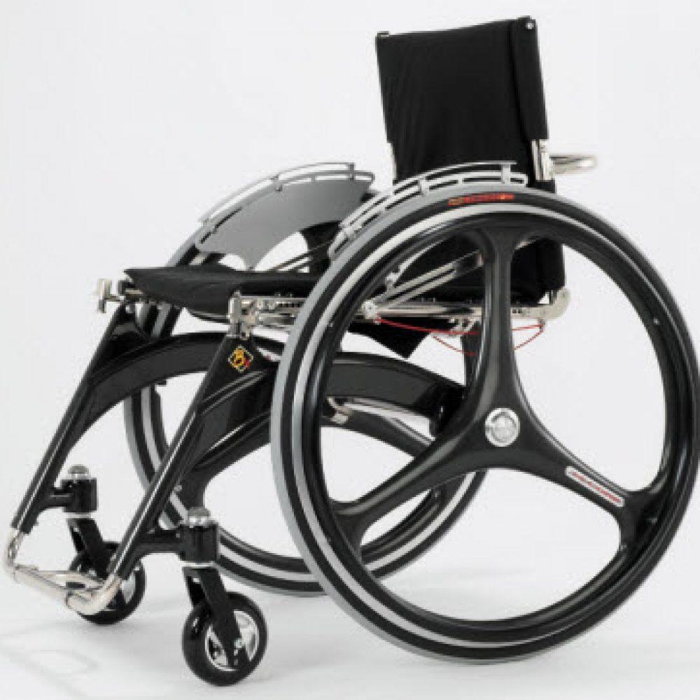 X Core 3 Spoke Carbon Wheelchair Wheel