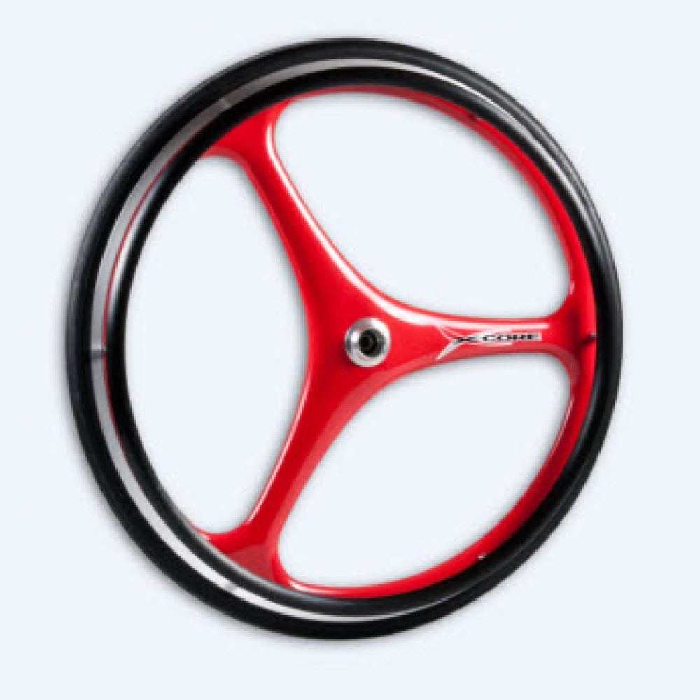 X-Core 3 Spoke Carbon Wheelchair Wheel | DaVinci Mobility