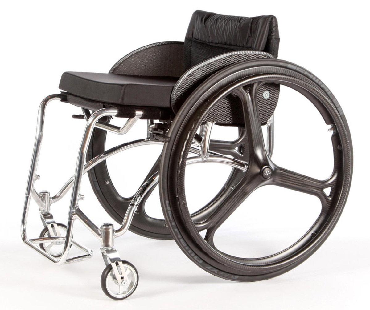 Charmant DaVinci Ultra Lightweight Carbon Fibre Wheelchair Wheel (pair)